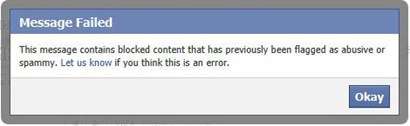 This is what Happens When You Try To Link This Article to Facebook