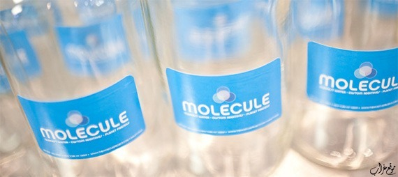 Molecule Water bottles