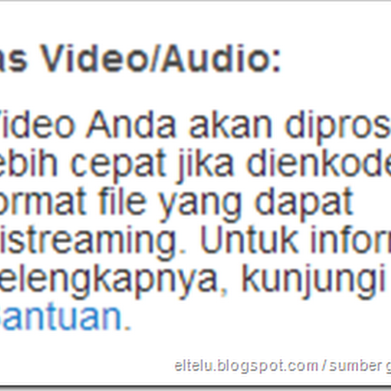Tips Cara Mempercepat Proses Upload Video Atau Mengunggah File Ke YouTube