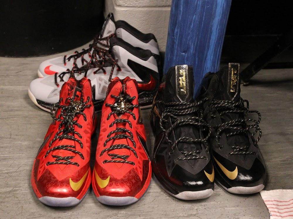 wholesale dealer 66928 5d6b6 ... NIKE LEBRON X PS Elite NBA Finals Player Exclusive 8211 New Pics ...