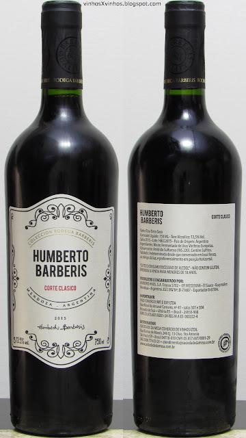 vinho Humberto Barberis