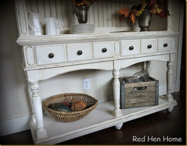 Red Hen Home French Country Hutch 4