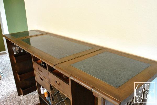 carved teak bar top 2