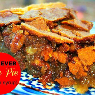 The BEST Pecan Pie EVER (No Corn Syrup!)