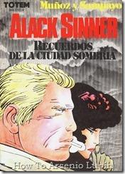 Alack Sinner - Recuerdos De La Ciudad Sombria