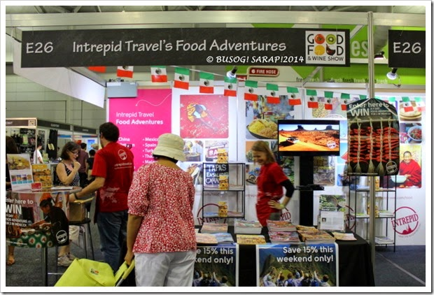 Good Food and Wine Show 2014 - Intrepid Travel  © BUSOG! SARAP! 2014