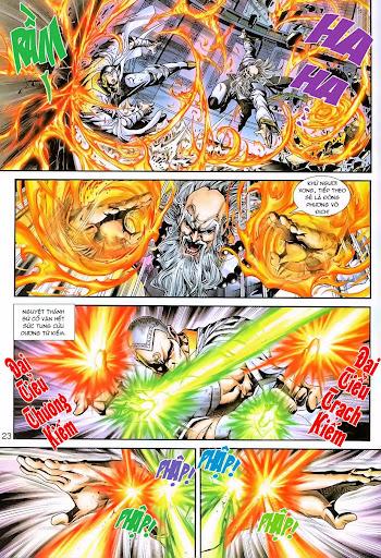 Tân Tác Long Hổ Môn Chap 230 page 23 - Truyentranhaz.net