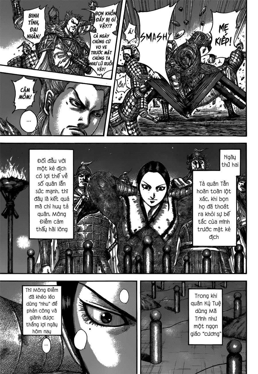 Kingdom Chapter 539: Kẻ thù trang 3