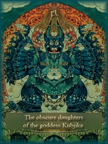 The obscure daughters of the goddess Kubjika Cover
