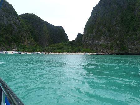 Plecarea din Maya Bay