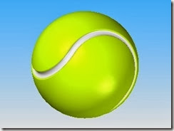 Surf and Code: Solid Edge Surfacing: Tennis Ball
