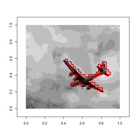 Unsupervised Image Segmentation with Spectral Clustering with R