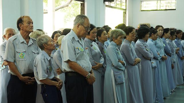 DSC06353 Lễ Hiệp kỵ   Lễ Huý Nhật Cư sĩ Sáng lập viên GĐPT Việt Nam   Tâm Minh Lê Đình Thám