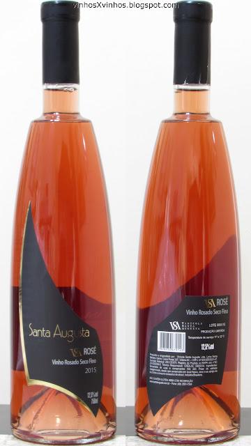 Vinho Santa Augusta Rosé