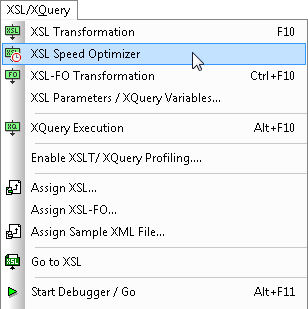 XSL Speed Optimizer
