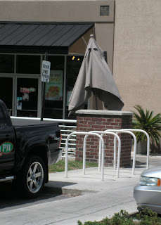 Parking provided at the Pita Pit
