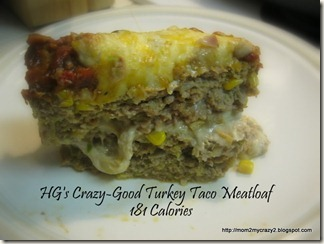 HG's Crazy-Good Turkey Taco Meatloaf