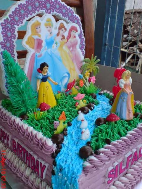 Dapur Wieda Cake Bertema Disney Princess