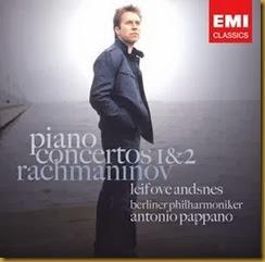 Rachmaninov Conciertos piano 1 2 Andsnes Pappano