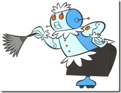 Rosie, a doméstica robô dos Jetsons