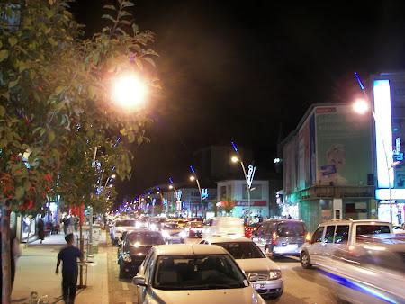 Imagini Turcia: Erzurum la miezul noptii