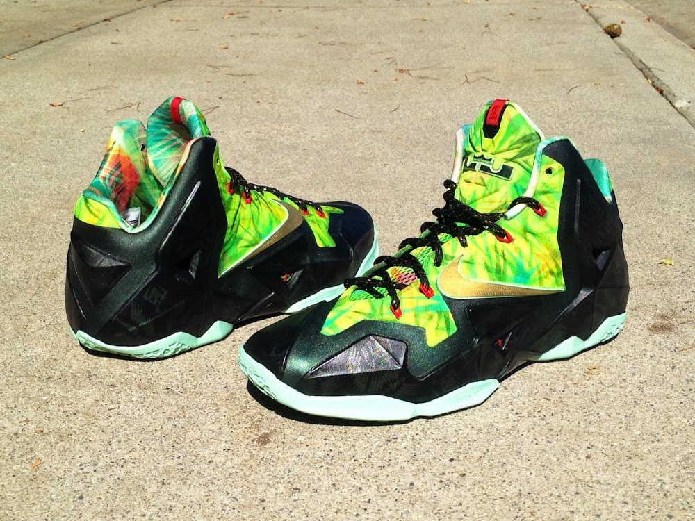 e26f16c65a973 ... Nike LeBron XI 8220Kings Rings8221 by Lancer Customs ...