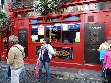 Obiective turistice Irlanda: Temple's Bar Dublin