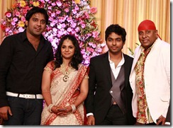 Drums Sivamani @ GV Prakash Kumar & Saindhavi Wedding Reception Photos
