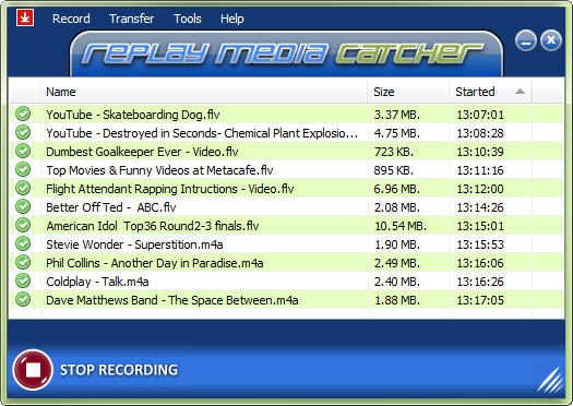 Replay Media Catcher v7.0.0.43 Full İndir