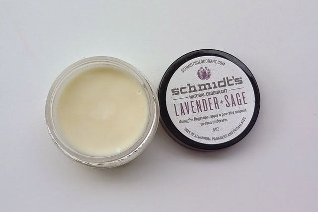 Schmidt's Natural Deodorant in Lavender and Sage