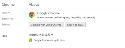 Google Chrome 28