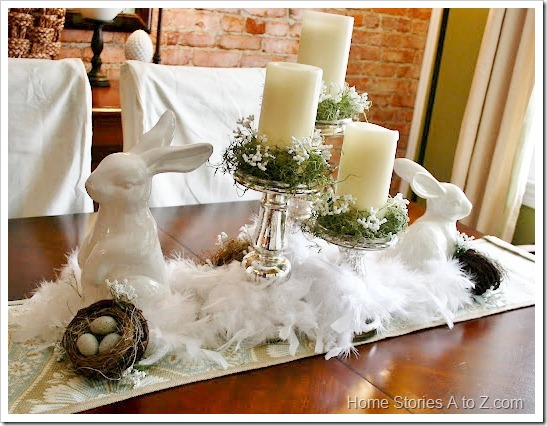 bunny tablescape