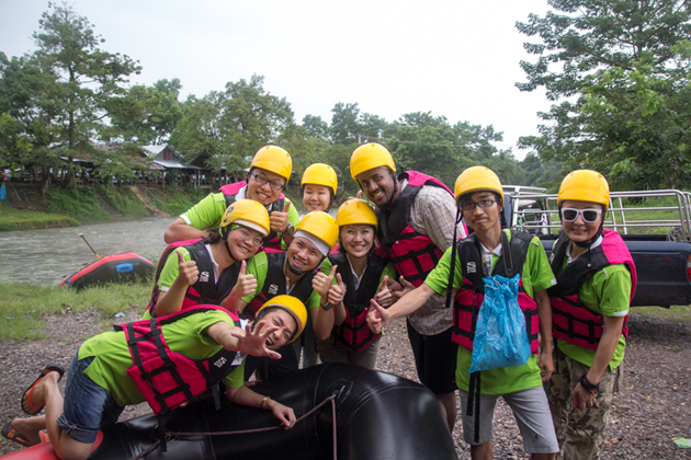 River Rafting on Nakhon Nayok river