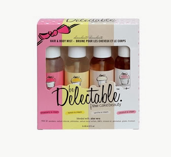 beDelectable Boxed Hair Body Mist