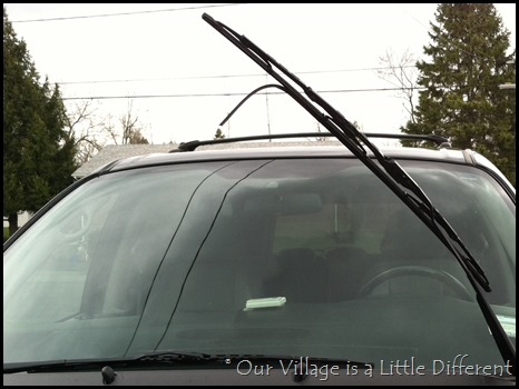 nasty old wiper blade