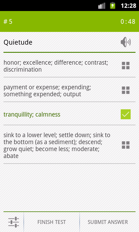 uVocab - Vocabulary Trainer- screenshot