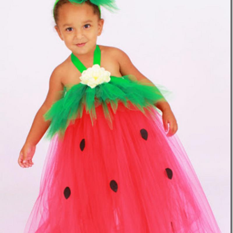 Preciosos disfraces para niñas hechos con tutu