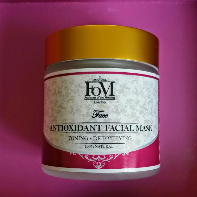 FOM Antioxidant Facial Mask.