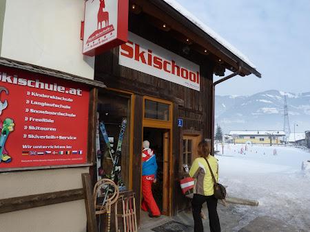 Ski Austria: Scoala de schi Alpine din Kaprun