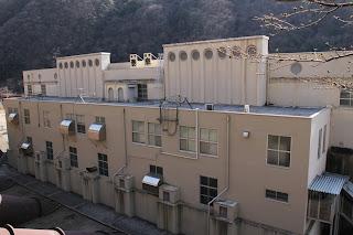 泰阜水力発電所建屋