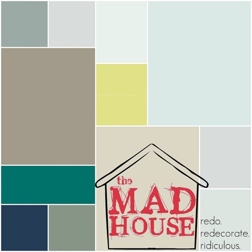 final Mad House Paint color graphic
