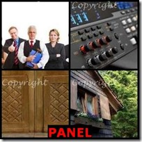 PANEL- 4 Pics 1 Word Answers 3 Letters