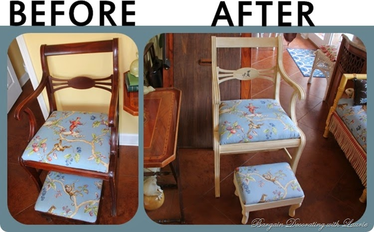 ANNIE SLOAN PAINTED CHAIR
