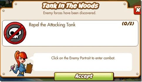Mission 10: Tank in the Woods