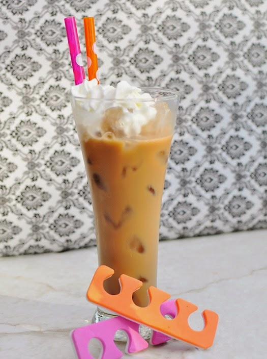 International Delight Iced Coffee Spa Party Soiree Ideas #IcedDelight