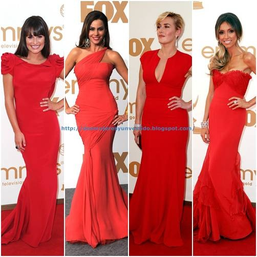 Emmy Awards-red