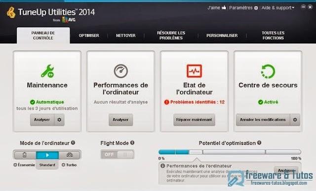 Concours (7 ans du blog) : 3 licences de TuneUp Utilities 2014 à gagner !