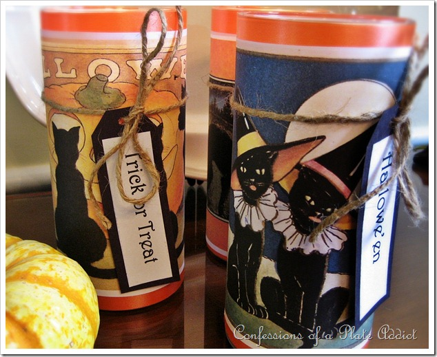 Witchy Cat Candle