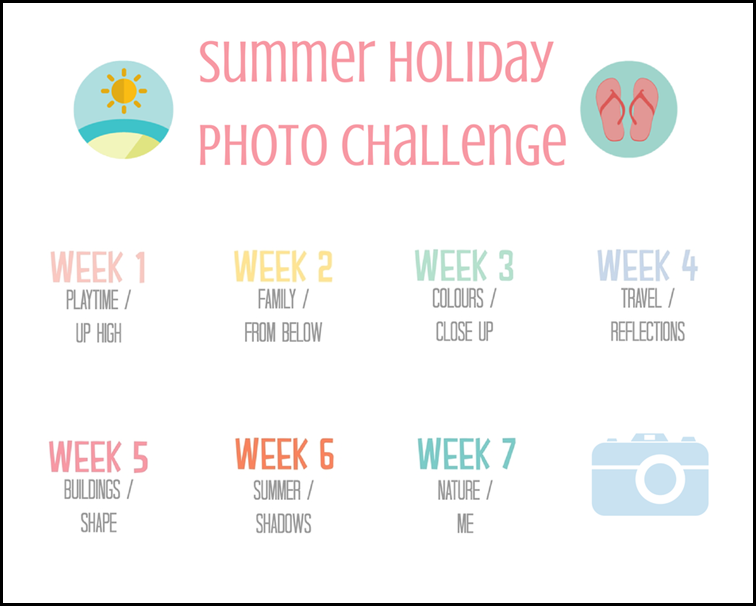 Summer Holiday Photo Challenge