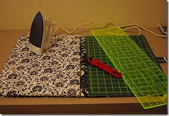 Ironing board and mat case
